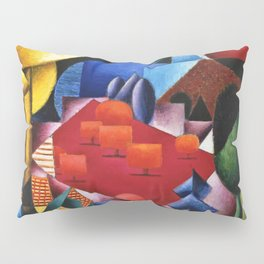 Lake, Forest, and Alpine Orchard Landscape by Jean Metzinger Pillow Sham