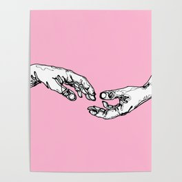 Give me your hand Poster