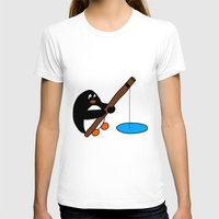 fishing T-shirts featuring Fishing by Kakida Lily