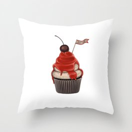 Eat me! Throw Pillow