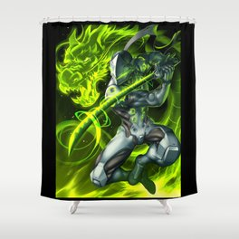 genji Shower Curtain