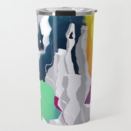 Who squashed the skyline Travel Mug