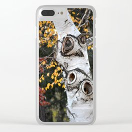 The Owl Tree Clear iPhone Case