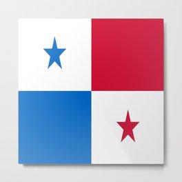 flag of panama-Panama,Panamanian,canal,spanish,San Miguelito,Tocumen,latine,central america,panameno Metal Print