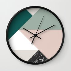 Tangram Wall Clock