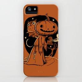 Hallowe'en Box iPhone Case