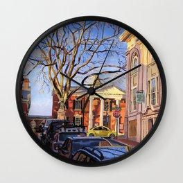 KJP, C-ville, VA Wall Clock