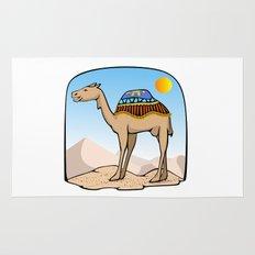 Exalted Camel Rug