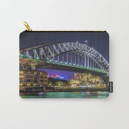 Sydney Harbor Bridge at Night Carry-All Pouch