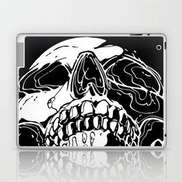 Carnibal / Ink Skull / White Laptop & iPad Skin