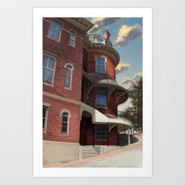 Burnside House Art Print