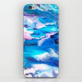 Turuoise Flow iPhone Skin