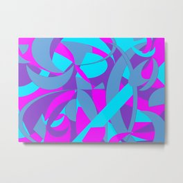 Scepter Spiral Metal Print