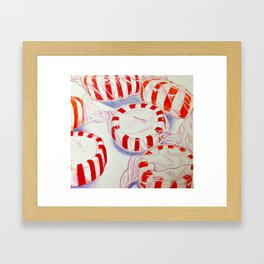 Minty Framed Art Print
