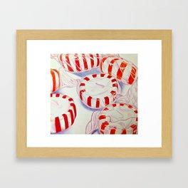 Minty Framed Art Print