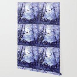 The Magic Of Winter Evening Wallpaper