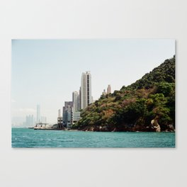 Hong Kong Syline  Canvas Print