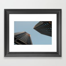 Lower Manhattan  Framed Art Print