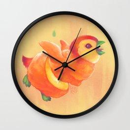 Sweeture: Peachguin Wall Clock