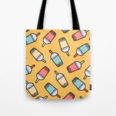 Bubble Tea Pattern Tote Bag