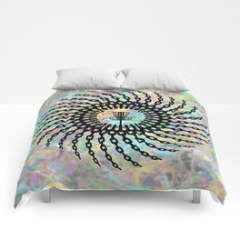 Disc Golf Basket Chains Comforters