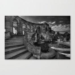 hever Castle Loggia Canvas Print