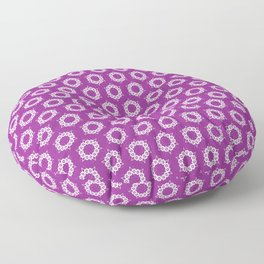 Abstract Stars Pattern Floor Pillow