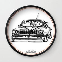 Crazy Car Art 0021 Wall Clock