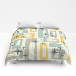 Mid Century Modern Geometric Abstract 132 Comforters