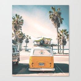 Surf Van Venice Beach California Canvas Print
