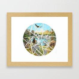 Paha Sapa Vision Quest Framed Art Print