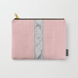 Marble Strip Carry-All Pouch