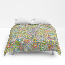 SUPER FLOWER POWER Comforters