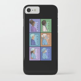 Pandemic Series - Version 1 iPhone Case
