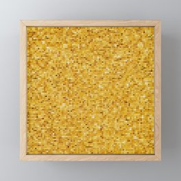 squares Framed Mini Art Print