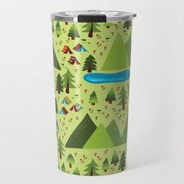 Summer Nature Camping Travel Mug