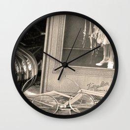 Vintage Memories Wall Clock