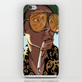 DEPP: Fear and Loathing in Bat Country iPhone Skin