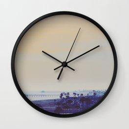 Newport Dusk Wall Clock