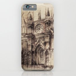 Gothic Cathedral 2 iPhone Case