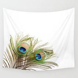 Peacock feather Wall Tapestry