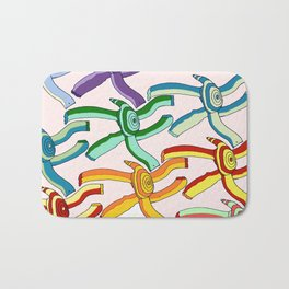 Marching Turtles Bath Mat