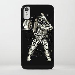 Space Baseball Astronaut iPhone Case