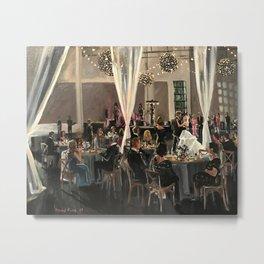 Erin & Taylor: Stave Room Wedding Metal Print