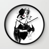 rupaul Wall Clocks featuring MAX COLLECTIVE by Garry Muska