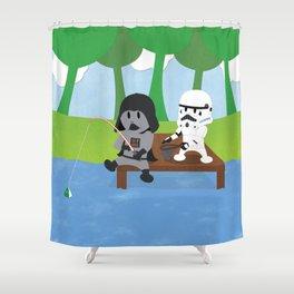 SW Kids - Darth Fishing Shower Curtain