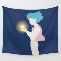 howl Wall Tapestries featuring Howl by Polvo