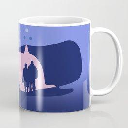 Whale stomac for dog walking Coffee Mug