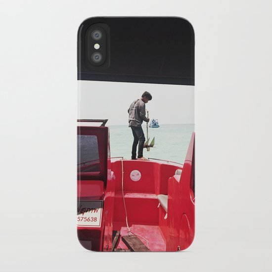 Dropping Anchor iPhone Case