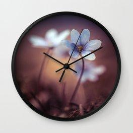 Liverworts Wall Clock